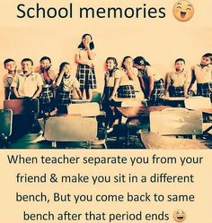 20 Ideas Childhood Friendship Quotes Funny For 2019 Funny School Jokes, School Memes, Funny Memes, Funny Sarcasm, School Days Quotes, Best Friend Quotes Funny, Funny Friends, Best Friend Jokes, Funny Girl Quotes