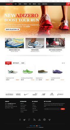 JM Sporty Magento Sport & Fitness Store Theme