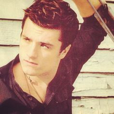 Josh Hutcherson. Sigh. I did not want to like him because he was so young. I keep waiting for Chris Hansen to come in here and bust me. lol
