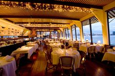 New York's Chicest Waterfront Dining