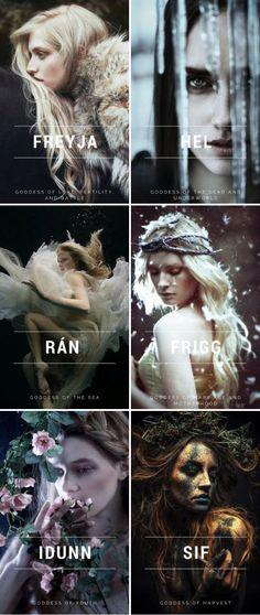 Norse Mythology //Popular Goddesses – Norse Mythology-Vikings-Tattoo - Norse Mythology //Popular Goddesses N Norse Mythology Goddesses, Gods And Goddesses, Greek Mythology, Norse Goddess Names, Valkyrie Norse Mythology, Nordic Goddesses, Celtic Goddess, Religion Wicca, Hel Goddess