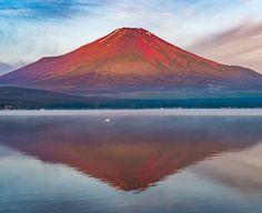 https://flic.kr/p/JH1ZtF | 赤富士 | 山中湖 平野 Red Fuji 2016:06:27 04:40:42