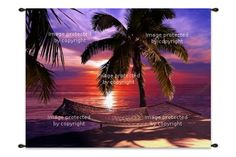 Tropical Wall Art | Custom Sizes | Canvas Wraps | Wall Hangings & Tapestries at http://www.visionbedding.com/WallArt/Tropical.php  #TropicalWallArt, #CustomWallArt, #TropicalTheme
