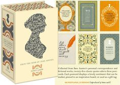 This Pretty Box of Janeisms is a Must for Correspondence | Community Post: 20 Novelties That'll Delight The Jane Austen Fan In Your Life