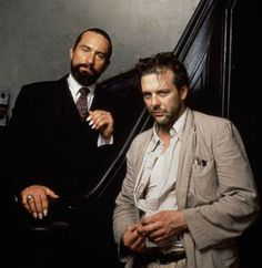 Robert De Niro & Mickey Rourke in Angel Heart