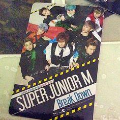 Super Junior M Card Sticker  Official!  **$1 each!  Super Junior M Breakdown card sticker Best for EZ-Link cards~  Tags: super junior M suju sjm card sticker kpop goods siwon henry zhoumi ryeowook sungmin kyuhyun eunhyuk donghae breakdown