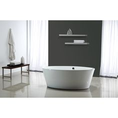 Shop for OVE Decors Marilyn Freestanding Bathtub. Get free shipping at Overstock.com - Your Online Home Improvement Outlet Store! Get 5% in rewards with Club O!