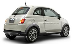 Fiat 500 Crossover by Theophilus Chin. Best Small Cars, New Fiat, Fiat Cars, Fiat 500, Van, Images Photos, Pictures, Vehicles, Crossover