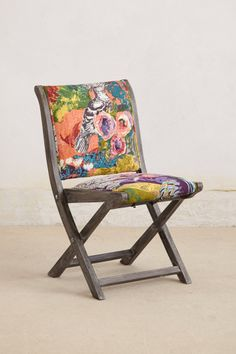 Overdyed Terai Folding Chair - Anthropologie.com
