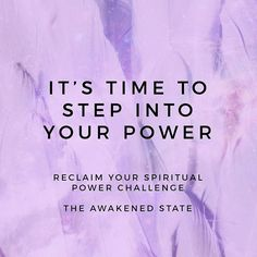 Reclaiming Your Spiritual Power 5 Day Challenge Were starting today if you still wish to participate with us (Link in bio to sign up) Are you currently feeling lost uncertain or youre letting yourself be run by fear? As a spiritual person I can personally relate because ive been there myself. When im in this state of resisting I am left feeling very unmotivated stuck and disconnected. This loss of Connection is what keeps us from stepping fully into our Spiritual Power. This is why i created…