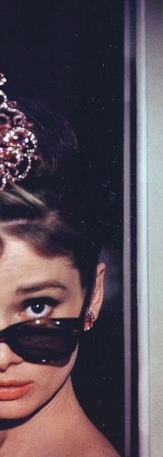 Audrey Hepburn. Half. Breakfast at Tiffany's. '61.
