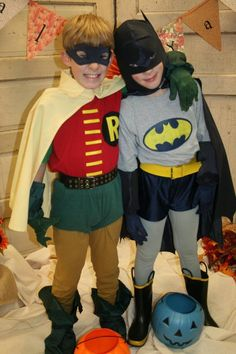 Cute buddy costume - Batman & Robin