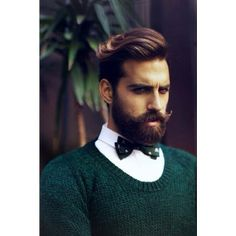 Bow Tie + Beard = Perfect