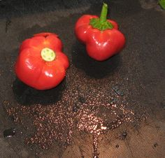 Fresh Red Bell Peppers