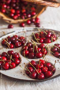 Sweet Cherries by alielengyelova | Stocksy United