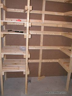 build canning shelves diy plan more canning shelves google search ...