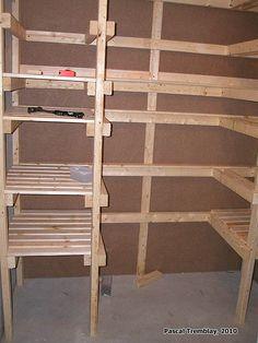 build canning shelves diy plan more canning shelves google search ...