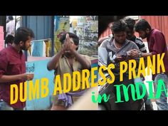 Dumb Guy asking Foreign Address in India Prank