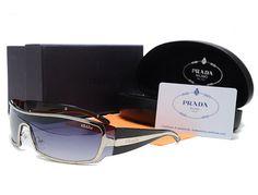 Cheap Prada Metal Curved Wrap Around Sunglasses Black Pin It Prada Outlet, Prada Sunglasses, Prada Handbags, Eyewear, Pairs, Metal, Stuff To Buy, Black, Eyeglasses