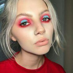 ♡ pinterest: maryybabezz ♡ #EyeMakeupRed