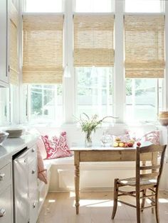 Privacy Treatments for Bay Windows