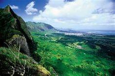 Pali Lookout Oahu