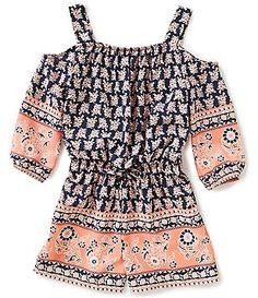 free people little girl vibe - LOVE Cruise Outfits, Summer Outfits, Girl Outfits, Fashion Outfits, Off Shoulder Romper, Cold Shoulder, Tween Girls, Kids Girls, Forever 21 Girls