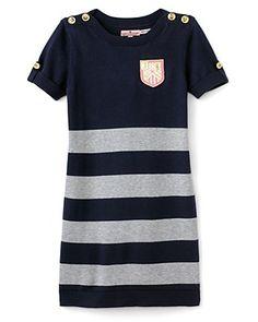 juicy preppy striped sweater dress