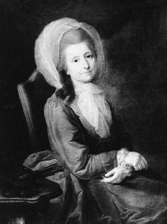Self-portrait of Anna Rosina de Gasc