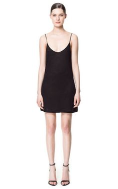 Image 1 of COTTON COMBINATION CAMISOLE from Zara