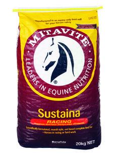 Sustaina® | Mitavite  #mitavite #horsefeeds #horses #equine #equestrian #sustaina #ceralgrains #roastedrolledbarley #fababeans #sunflowerseeds #milledmaize #cleanedgradedoats #legumes #roastedrolledlupins #vegetableprotein #vegetableoils #omega3 #omega9 #completefeed #palatable #nutrientdense #aminoacid #musclefunction #musclereapir #costeffective #hardwork #racing #trustedracefeed #bonafide