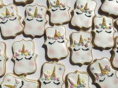 Unicorn Cookies, Desserts, Tailgate Desserts, Deserts, Postres, Dessert, Plated Desserts