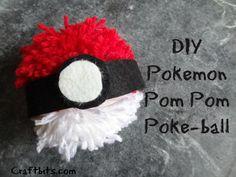 Pokemon GO PokeBall Pom Pom