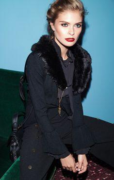 Campaign Fall Winter 2018/19 Mulher | LANIDOR.COM - Shop Online Online Shopping, Fur Coat, Fall Winter, Fashion, Woman, Moda, Net Shopping, Fashion Styles, Fashion Illustrations