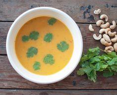 Zoete aardappelsoep; een lekkere frisse, lichte en ook gezonde soep met…