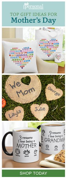 bring joy to her mothers day with a gift you personalized just for her mom