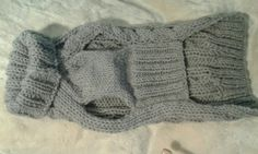 Dog dress wool