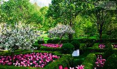 Carolyne Roehm's garden
