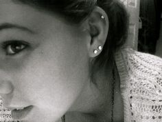 double piercing cartilage