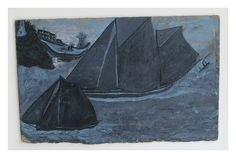 Painting by Alfred Wallis. Cornwall.