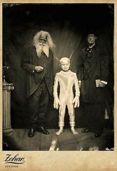 How can they possibly explain these strange photos from the past.