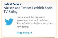 'Nielsen Twitter TV Rating' Begins Fall 2013