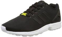 Oferta: 81.5€. Comprar Ofertas de adidas ZX Flux - Zapatillas deportivas para hombre, color negro / blanco, talla 48 barato. ¡Mira las ofertas!