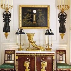 Inside Hubert de Givenchy's Private Antiques Collection : Architectural Digest