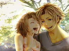 Final Fantasy 10 Yuna and Tidus