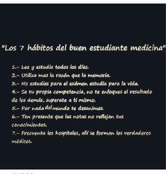 7 Hábitos estudiante de medicina
