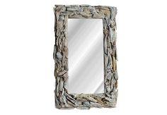 Espejo con marco de madera Oversized Mirror, Home Decor, Frame Mirrors, Wood, Decoration Home, Room Decor, Interior Decorating