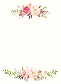 Pin on fundo para convite de casamento. This Pin was discovered by Ana Paula.) your own Pins on Convites de Noivado Flower Backgrounds, Flower Wallpaper, Wallpaper Backgrounds, Iphone Wallpaper, Invitation Background, Invitation Cards, Wedding Invitations, Printable Invitation Templates, Floral Invitation