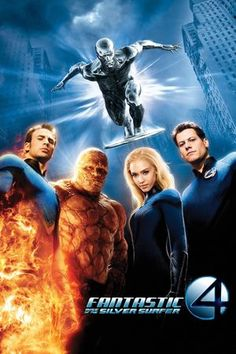 Movie #38 - Fantastic Four Rise of the Silver Surfer - 3/5 stars