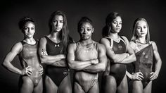 Here they are: Simone Biles Laurie Hernandez Aly Raisman Gabby Douglas and Madison Kocian! #RioReady - http://ift.tt/1HQJd81